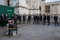 "28.06.2014 - ""Save Independent Living Fund: Occupy Westminster"""
