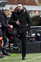 Roberto De Zerbi coach Sassuolo <br /> Genova 03-02-2019 Stadio Marassi, Football Serie A 2018/2019 Genoa - Sassuolo   <br /> Foto Image Sport / Insidefoto