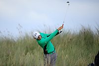 Aaron Marshall of Ireland during Day 2 / Singles of the Boys' Home Internationals played at Royal Dornoch Golf Club, Dornoch, Sutherland, Scotland. 08/08/2018<br /> Picture: Golffile | Phil Inglis<br /> <br /> All photo usage must carry mandatory copyright credit (&copy; Golffile | Phil Inglis)