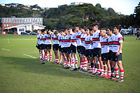 Action from the Wellington Premiership secondary schools rugby match between Scots College and Porirua at Scots College in Wellington, New Zealand on Saturday, 26 May 2018. Photo: Dave Lintott / lintottphoto.co.nz