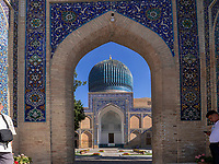 Timur Mausoleum, Samarkand, Usbekistan, Asien, UNESCO Weltkulturerbe<br /> Mausoleum of Amir Timur, Samarkand, Uzbekistan, Asia, UNESCO Heritage Site