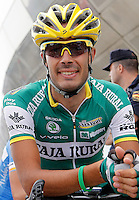Antonio Piedra before the stage of La Vuelta 2012 beetwen Santander-Fuente De.September 5,2012. (ALTERPHOTOS/Acero) /NortePhoto.com<br /> <br /> **CREDITO*OBLIGATORIO** *No*Venta*A*Terceros*<br /> *No*Sale*So*third* ***No*Se*Permite*Hacer Archivo***No*Sale*So*third