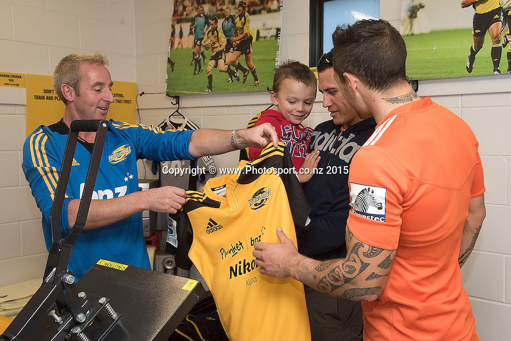 d2464e43cb8 Wellington Rugby's Paul Minehan (L) with future star Nikora Kupa, Nikora's dad  Richard.