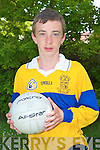 SEMI-FINAL CALL: Jessie Stafford-Lacey from Ardfert NS who will represent his school and county at the half-time game against a County Cork schools selection at the Munster Senior Football semi-final at Fitzgerald Stadium, Killarney.