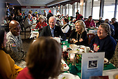 United States Vice President Joe Biden and Dr. Jill Biden visit with troops and their families on Christmas Day at Walter Reed Army Medical Center in Washington, D.C., Saturday, December 25, 2010. .Mandatory Credit: David Lienemann - White House via CNP