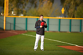 during the Under Armour All-American Pre-Season Tournament presented by Baseball Factory on January 14, 2017 at Sloan Park in Mesa, Arizona.  (Zac Lucy/Mike Janes Photography)