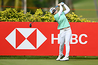 SINGAPORE - MARCH 02: Eun-Hee Ji of South Korea on the 3rd tee during the third round of the HSBC Women's World Championship 2019 at Sentosa Golf Club - Tanjong Course, Singapore on March 02, 2019.<br /> .<br /> .<br /> .<br /> (Photo by: Naratip Golf Srisupab/SEALs Sports Images)<br /> .<br /> Any image use must include a mandatory credit line adjacent to the content which should read: Naratip Golf Srisupab/SEALs Sports Images