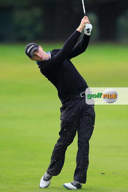 Ciaran Boggan (County Meath GC) during the first round of the Irish PGA Championship, Dundalk Golf Club, Dundalk Co Louth. 01/10/2015<br /> Picture Golffile | Fran Caffrey | PGA<br /> <br /> <br /> All photo usage must carry mandatory copyright credit (&copy; Golffile | Fran Caffrey | PGA)