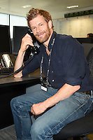Tom Aitken<br /> on the trading floor for the BGC Charity Day 2016, Canary Wharf, London.<br /> <br /> <br /> &copy;Ash Knotek  D3152  12/09/2016