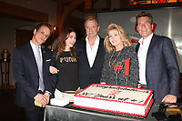 LOS ANGELES - JAN 17:  Christian LeBlanc, AMelia Heinle, Eric Braeden, Melody Thomas Scott, Peter Bergman at the Young and the Restless Celebrates 30 Years at #1 at the CBS Television CIty on January 17, 2019 in Los Angeles, CA
