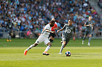 St. Paul, MN - Sunday June 2, 2019: Minnesota United FC was defeated by Philadelphia Union 2-3 during their Major League Soccer (MLS) match at Allianz Field.