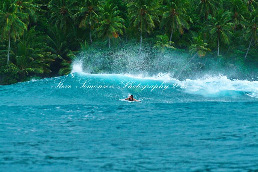Surfers at Hull Bay<br /> St. Thomas<br /> U.S. Virgin Islands