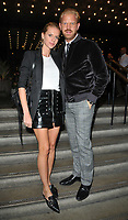 Barbora Bediova and Alistair Guy at the James Bay x TOPMAN new capsule collection launch party, Ace Hotel Shoreditch, Shoreditch High Street, London, England, UK, on Tuesday 08 August 2017.<br /> CAP/CAN<br /> &copy;CAN/Capital Pictures