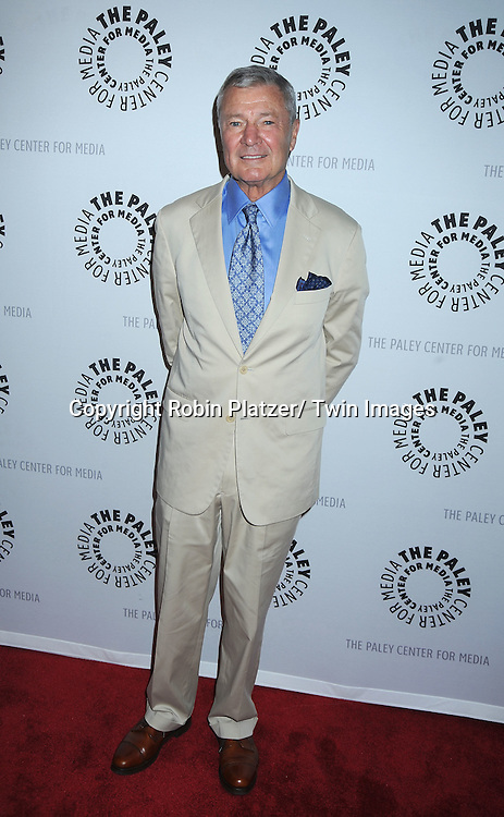 Don Hastings attending the Farewell to As the World Turns at the Paley Center for Media on August 18, 2010 in New York City.
