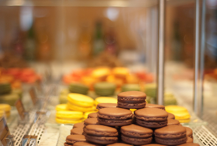UNITED STATES - JUNE 20: The Sweet Lobby, located on Barracks Row in Southeast Washington, D.C. The shop is serving up macarons, Parisian-style confections, in exotic flavors.  (Photo By Emily Heil/Roll Call)