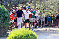 Brooks Koepka (USA) on the 13th fairway during the 2nd round of the Abu Dhabi HSBC Championship, Abu Dhabi Golf Club, Abu Dhabi,  United Arab Emirates. 17/01/2020<br /> Picture: Fran Caffrey   Golffile<br /> <br /> <br /> All photo usage must carry mandatory copyright credit (© Golffile   Fran Caffrey)