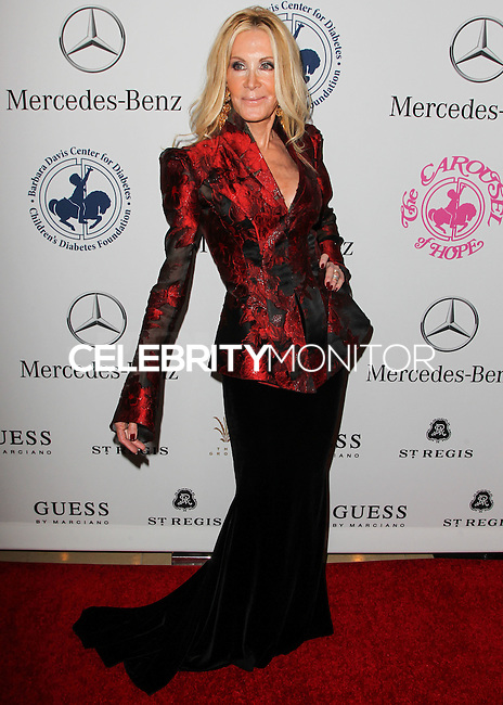 BEVERLY HILLS, CA, USA - OCTOBER 11: Joan Van Ark arrives at the 2014 Carousel Of Hope Ball held at the Beverly Hilton Hotel on October 11, 2014 in Beverly Hills, California, United States. (Photo by Celebrity Monitor)