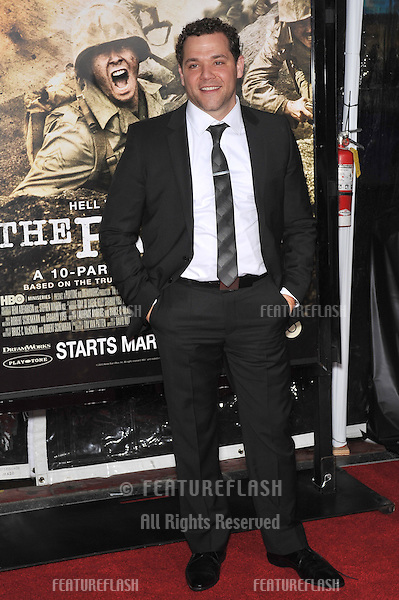 "Joshua Bitton at the premiere of his new HBO miniseries ""The Pacific"" at Grauman's Chinese Theatre, Hollywood..February 24, 2010  Los Angeles, CA.Picture: Paul Smith / Featureflash"