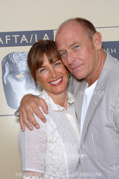 Actor CORBIN BERNSEN & wife actress AMANDA PAYS at the BAFTA/LA & Academy of TV Arts & Sciences 3rd Annual Tea Party honoring Emmy nominees..September 17, 2005  Los Angeles, CA..© 2005 Paul Smith / Featureflash