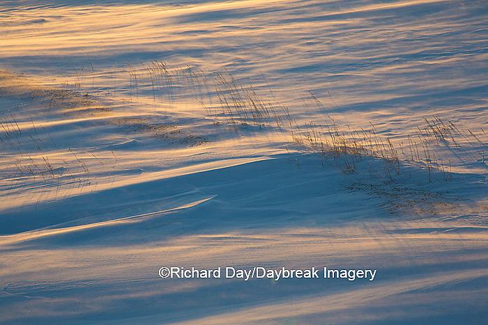 60595-01202 Sunset on tundra, Cape Churchill, Wapusk National Park near Churchill, MB Canada