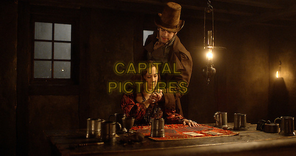 Eduardo Noriega, Myriam Charleins<br /> in Beauty and the Beast (2014) <br /> (La belle et la bete)<br /> *Filmstill - Editorial Use Only*<br /> CAP/NFS<br /> Image supplied by Capital Pictures