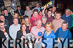 Nifty fifty<br /> -----------<br /> Tommy Dowling,Camp,got a fab surprise from his family when he went for a quiet jar in Paddy Mac's bar,Tralee last Friday night only to find the place rocking with friends waiting to celebrate his 50th birthday with him.