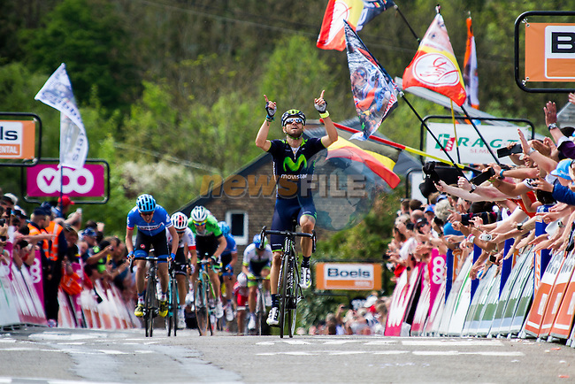 Alejandro VALVERDE (ESP, MOV), Huy, Fleche Wallone, 23th April 2014, Photo by Thomas van Bracht / www.pelotonphotos.com