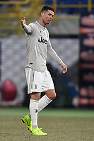 Cristiano Ronaldo of Juventus gestures during the Italy Cup 2018/2019 football match between Bologna and Juventus at stadio Renato Dall'Ara, Bologna, January 12, 2019 <br />  Foto Andrea Staccioli / Insidefoto