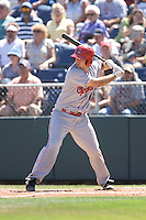 July 11, 2010: Spokane Indians' Brett Nicholas (7) at-bat during a Northwest League game against the Everett AquaSox at Everett Memorial Stadium in Everett, Washington.