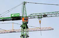 Nederland Amsterdam 2015. Hijskraan van BAM bij de Zuidas. Foto Berlinda van Dam - Hollandse Hoogte