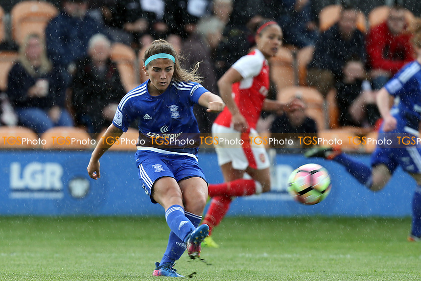 Paige Williams of Birmingham City Ladies during Arsenal Ladies vs Birmingham City Ladies, FA Women's Super League FA WSL1 Football at the Hive Stadium on 20th May 2017
