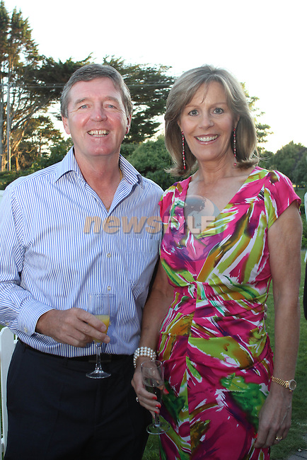 Des and Vicki Smyth at the Baltray and District Residents Association Gala Dinner Dance in Co.Louth Golf Club...Picture Jenny Matthews/Newsfile.ie