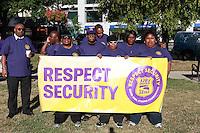 SEIU 32BJ Security Officers Morning