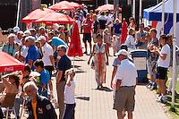 Netherlands, Rotterdam August 08, 2015, Tennis,  National Junior Championships, NJK, TV Victoria, Ambiance<br /> Photo: Tennisimages/Henk Koster