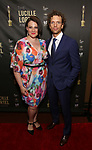 Lisa Howard and Paul Alexander Nolan attends the 33rd Annual Lucille Lortel Awards on May 6, 2018 in New York City.