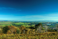 Callander and Stirlingshire from Callander Crag, Loch Lomond and the Trossachs National Park