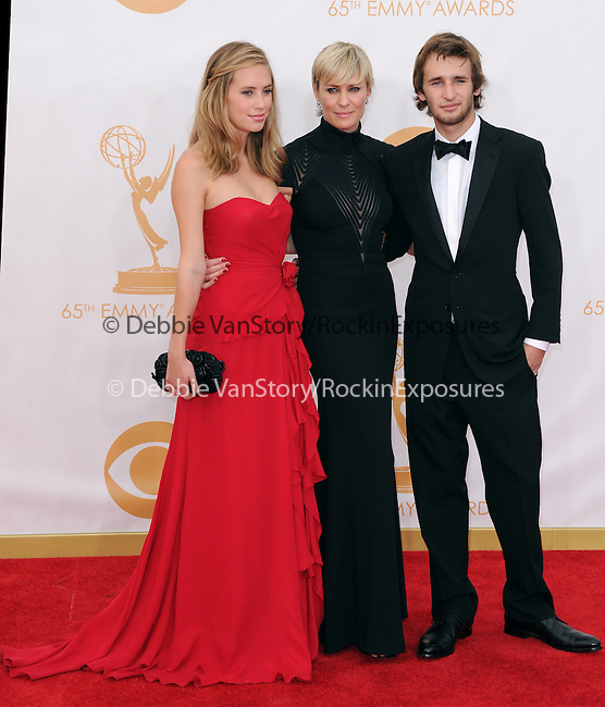 Dylan Penn, Robin Wright, Hopper Penn attends 65th Annual Primetime Emmy Awards - Arrivals held at The Nokia Theatre L.A. Live in Los Angeles, California on September 22,2012                                                                               © 2013 DVS / Hollywood Press Agency