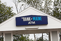 A Bank of Maine ATM drive through is pictured in Maine, Sunday June 16, 2013.
