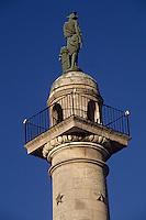 Europe/France/Aquitaine/33/Gironde/Bordeaux: Esplanade des Quinconces - Détail colonne rostrale