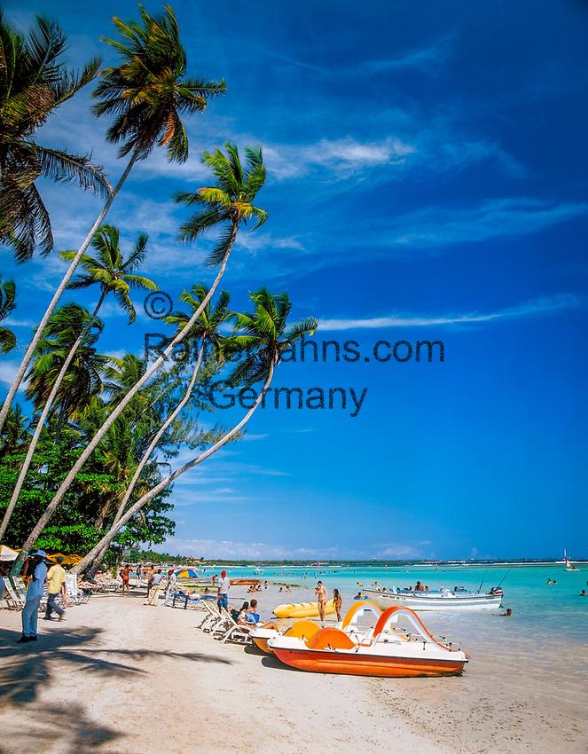 Dominikanische Republik, Boca Chica, Playa Boca Chica   Dominican Republic, Boca Chica, Playa Boca Chica, beach