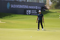 Haydn Porteous (RSA) on the 18th green during the 3rd round of  the Saudi International powered by Softbank Investment Advisers, Royal Greens G&CC, King Abdullah Economic City,  Saudi Arabia. 01/02/2020<br /> Picture: Golffile | Fran Caffrey<br /> <br /> <br /> All photo usage must carry mandatory copyright credit (© Golffile | Fran Caffrey)