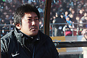 Ryuzo Asaoka (Ichifuna),.JANUARY 9, 2012 - Football / Soccer :.Ichiritsu Funabashi head coach Ryuzo Asaoka before the 90th All Japan High School Soccer Tournament final match between Ichiritsu Funabashi 2-1 Yokkaichi Chuo Kogyo at National Stadium in Tokyo, Japan. (Photo by Hiroyuki Sato/AFLO)