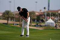 Marcus Kinhult (SWE) on the 14th during Round 3 of the Saudi International at the Royal Greens Golf and Country Club, King Abdullah Economic City, Saudi Arabia. 01/02/2020<br /> Picture: Golffile | Thos Caffrey<br /> <br /> <br /> All photo usage must carry mandatory copyright credit (© Golffile | Thos Caffrey)