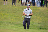 Andy Sullivan (ENG) on the 18th during Round 4 of the Irish Open at LaHinch Golf Club, LaHinch, Co. Clare on Sunday 7th July 2019.<br /> Picture:  Thos Caffrey / Golffile<br /> <br /> All photos usage must carry mandatory copyright credit (© Golffile | Thos Caffrey)