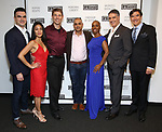 "Dan Domingues, Teresa Avia Lim, Jeff Applegate, Rajesh Bose, Brenda Braxton, Robert Cuccioli and Jonathan Hadley attends the Opening Night of The Gingold Theatrical Group production of Bernard Shaw's ""Caesar & Cleopatra"" at Theatre Row Theatre on September 24, 2019 in New York City."