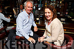 Jeffrey Charles and Eilish Callaghan enjoying a drink in the Connie Fox's Bar and Steakhouse in the Imperial Hotel on Sunday.