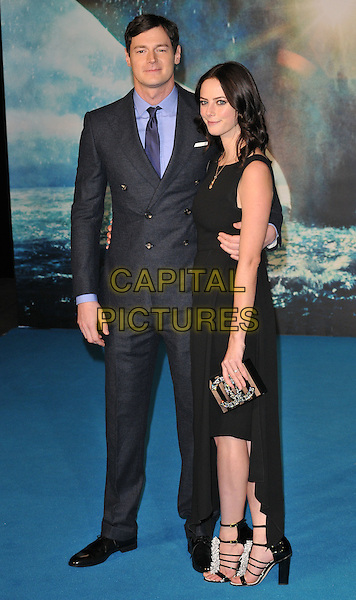 Benjamin Walker &amp; Kaya Scodelario attend the &quot;In The Heart Of The Sea&quot; European film premiere, Empire cinema, Leicester Square, London, UK, on Wednesday 02 December 2015.<br /> CAP/CAN<br /> &copy;CAN/Capital Pictures