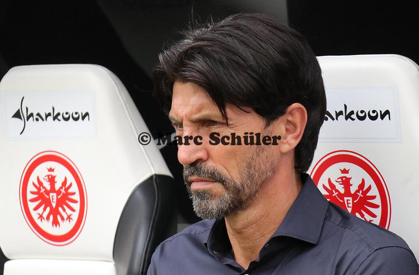 Sportmanager Bruno Hübner (Eintracht Frankfurt) - 18.08.2019: Eintracht Frankfurt vs. TSG 1899 Hoffenheim, Commerzbank Arena, 1. Spieltag Saison 2019/20 DISCLAIMER: DFL regulations prohibit any use of photographs as image sequences and/or quasi-video.