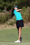 16 October 2016: Rollins' Lexie Toth. The Final Round of the 2016 Ruth's Chris Tar Heel Invitational NCAA Women's Golf Tournament hosted by the University of North Carolina Tar Heels was held at the UNC Finley Golf Club in Chapel Hill, North Carolina.