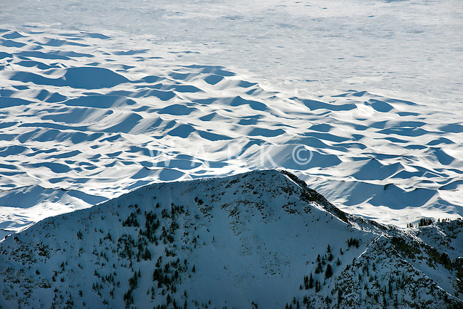 Sangre de Cristo mountains near Mt. Blanco and the San Luis Valley, Colorado.  Dec 2013